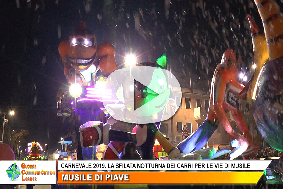 Freccia Play -  Screenshot Carnevale Musile 2019
